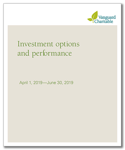 Investment performance report image of cover, links to pdf of the report which opens on a new page