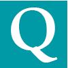 Question mark icon in aqua